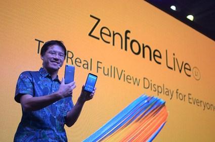 Mr. Benjamin Yeh Mengenalkan ASUS ZenFone Live L1