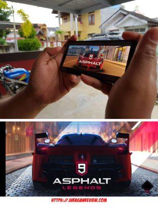 Bermain Game di ZenFone Max Pro M2