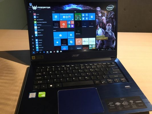Acer Swift 3 - Prosesor Intel Core 8