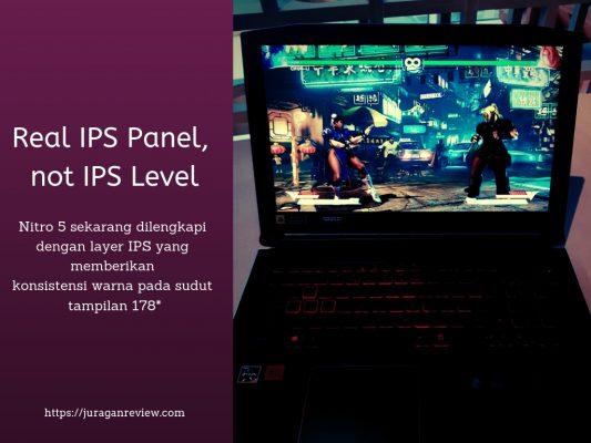 Real IPS Panel - Nitro 5