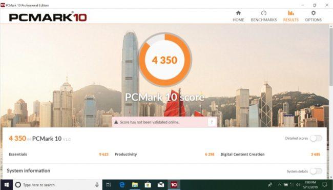 PCMark 10 - ASUS VivoBook Ultra A412