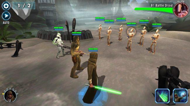 Fitur-Fitur Star Wars - Galaxy of Heroes