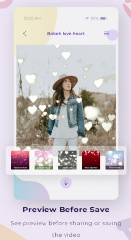 Bokeh Effect Video Maker